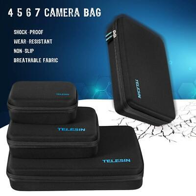 TELESIN Protective Action Camera Carrying Case Storage Bag For Gopro Hero 7 6 5