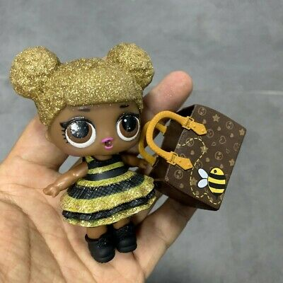 Original Lol Surprise Doll Queen Bee 🐝 Glitter Series 1 Ultra Rare with Bag