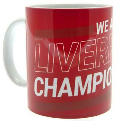 Personalised Liverpool Champions of Europe Mug. Official LFC Merchandise Cup