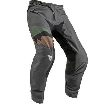 Thor Prime Pro Fighter Charcoal Camo Pants