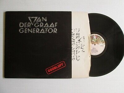 VAN DER GRAAF GENERATOR Godbluff LP UK PRESS PROG ROCK NO CD MC
