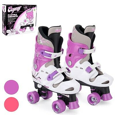 Osprey Girls Roller Skates - Adjustable Quad Skates - Multiple Sizes - Purple
