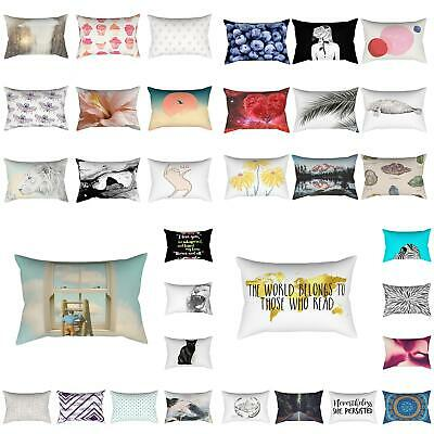 Rectangle Animal Floral Home Sofa Bed Car Throw Pillow Case Cushion Cover Sight
