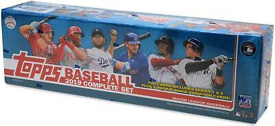 2019 Topps Baseball Factory Sealed Retail Complete Set - Fanatics