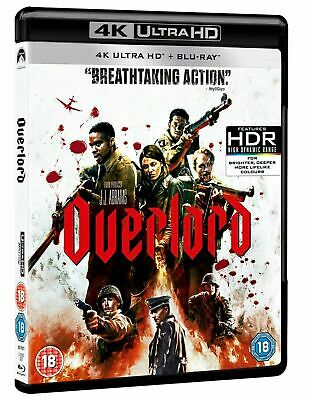Overlord (4K Ultra HD + Blu-ray) [UHD] Gift Idea Nazi Horror UK NEW