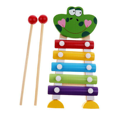 Kinder baby Traditionelle Metall Xylophon Musik Spielzeug Instrument