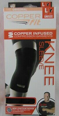 4edf89c03f COPPER FIT KNEE SLEEVE Copper Infused ORIGINAL Compression Wear LARGE UNISEX