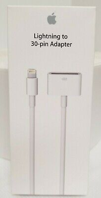 New OEM Apple Lightning to 30-pin Adapter Cable A1450 for iPhone 5/6/7/8/X