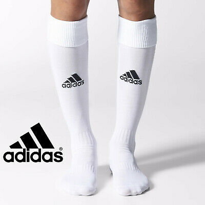 adidas Football / Rugby Socks Milano Children White Uk Sz4 Boys Junior Kids