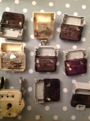 Vintage Junghans Clock Movements Battery Electric Clockmakers Parts Untested