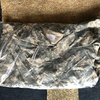 US Army ACU UCP Digital Camo Camouflage Mechanics Coveralls Overalls  NWOT XL