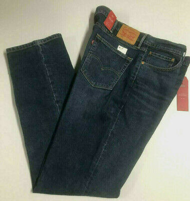 LEVIS 514 Jeans Regular Fit Straight Leg Rooster Blue Stretch 0005 Big & Tall