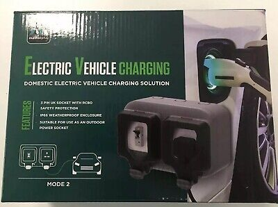 Masterplug EVH132S1SP Electric Vehicle Charging Socket 13 Amp Mode 2