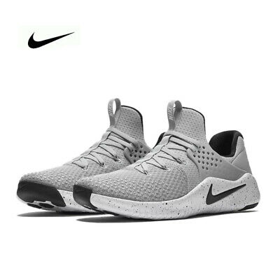 size 40 593f5 ce949 Nike Men s Free TR V8 Training Athetic Shoes Grey White AH9395 001 Size  12.5 NEW