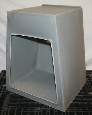 Plastec Weather Hood WH4 for Utility Blower P35 / Storm Series, Corrosion Resist