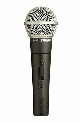 Shure SM58S Vocal Microphone with On/Off Switch - Switchable SM58 2 Day Delivery