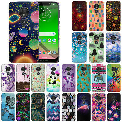 "For Motorola Moto G7 Play 5.7"" Design Hard Back Case Cover Protector"
