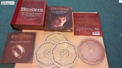 The Lord of the Rings : Complete Recordings - Howard Shore - 4 Disc Soundtrack