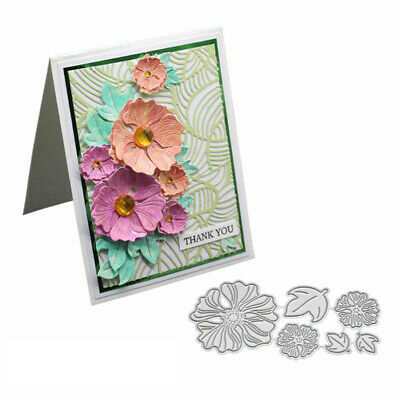 3D Flower Metal Cutting Dies DIY Scrapbooking Paper Cards Emboss Stencil Cosy