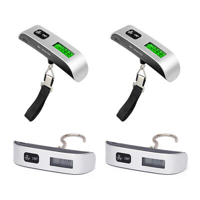 110lb / 50kg Portable Travel LCD Digital Hanging Luggage Scale Electronic Weight