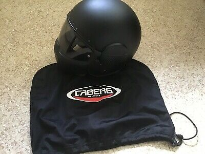 6e334971 Caberg Ghost Legend Flip-up Front Motorcycle Bike Crash Helmet Matt Black