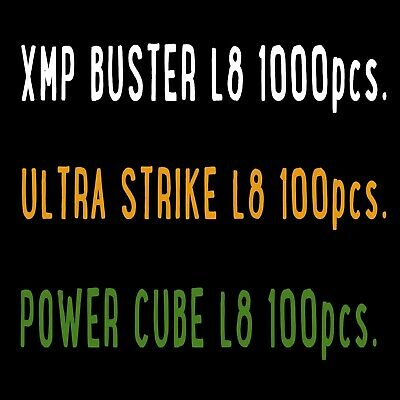 INGRESS XMP BUSTER L8 x 1000; POWER CUBE L8 x 100; ULTRA STRIKE L8 x 100 PRIME*