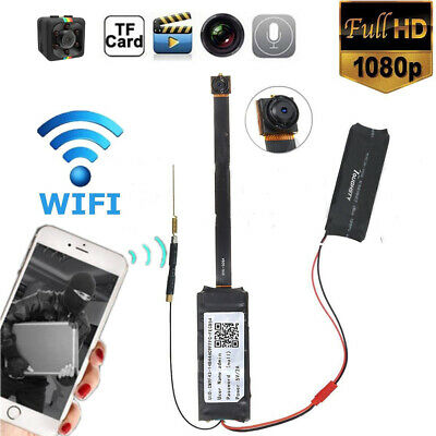 Mini 1080P HD Wireless WIFI IP Spy Camera Hidden DIY Module DV DVR Nanny Cam FHD