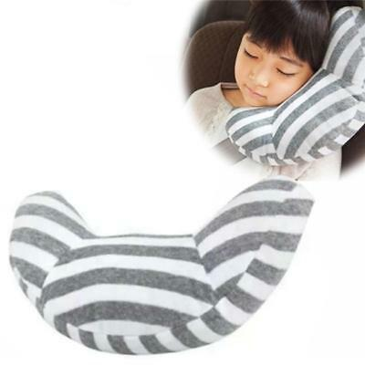 Car Kids Safety Strap Cover Harness Pillow Shoulder Seat Belt Pad Striped DS