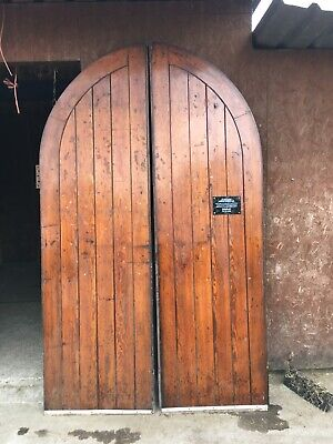 Arched Antique Church Doors