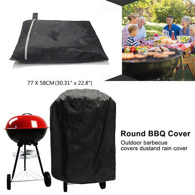 Large Waterproof Outdoor Garden Kettle Gas Barbecue BBQ Grill UV Fire Pit Cover