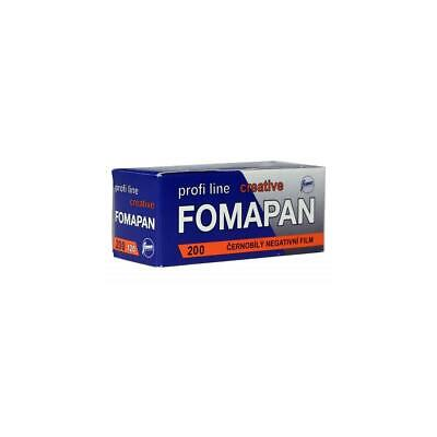 Foma Film Fomapan 200 Creative Black  White Negative Film, 120 Roll, 60mm Wide