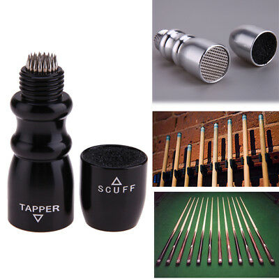Pool / Snooker Cue Tips Shaper Bowtie Tool - Tapper Scuffer Aerator J