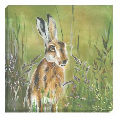 Evans Lichfield Made In Uk Highland Country Manor Hare Canvas Picture 40Cm