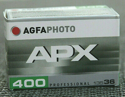 Agfa APX 400 • ISO 400 • 135/36 • s/w Black&White • NEW & FRESH FILM • 03/2023