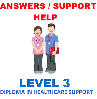 NCFE CACHE Level 3 Diploma in Healthcare Support ANSWERS HELP