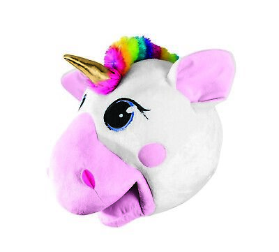 Unisex Unicorn Mask Mythical Horse Mascot Head Cute Halloween Costume Accessory