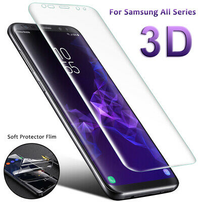 Soft Screen Protector Curved Full Cover HD Film for Samsung Galaxy Note9 S9 S8