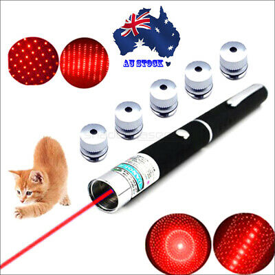 RP1 Red Laser Pointer 650nm Laser Pen Lazer Torch Light Beam Kit Cat Toy 1MW AU