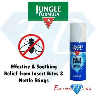Jungle Formula Bite & Sting Relief Insect Bites, Stings & Nettles Spray 50ml
