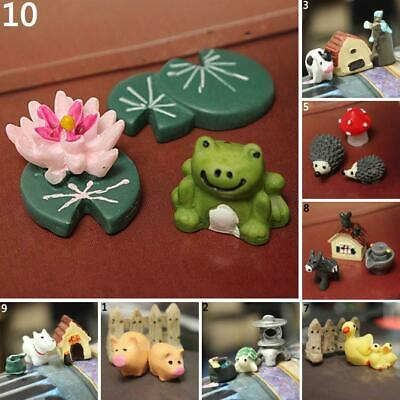 Miniature Fairy Garden Ornament Decor Pot DIY Craft Accessories Dollhouse