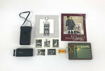 American Girl Kit's Complete Photography Set, Retired! Good Condition!