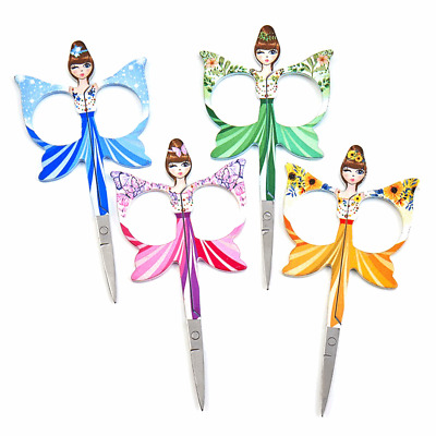 Groves Embroidery Angels Scissors 10cm/4in