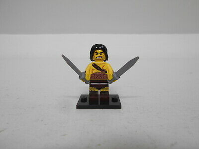 Minifig FREE UK POSTAGE LEGO COLLECTABLE  SERIES 11 BARBARIAN MINIFIGURE