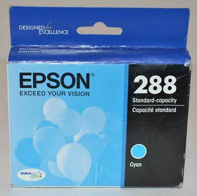New Genuine OEM Epson T288220 288 Cyan Ink Cartridge