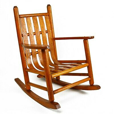 Vintage Salesman Sample Bentwood Rocking Chair