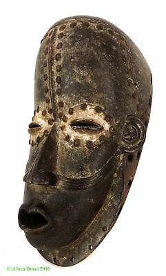 Bete Mask with Studs Ivory Coast African Art SALE WAS $445.00