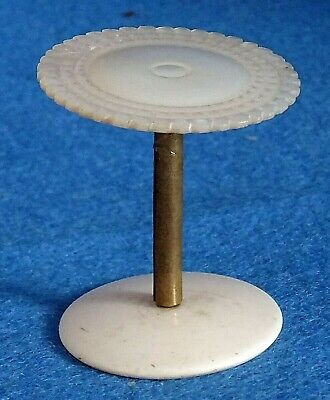 Antique Victorian Mother of Pearl Silk Reel Holder