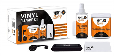 Vinyl LP pro Record Cleaner Cleaning Kit & Accessories  Gift Idea