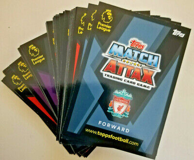 MATCH ATTAX EXTRA 2018/19 - BUNDLE OF 100 DIFFERENT CARDS inc 5 SHINy cards