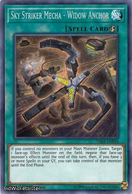 Sky Striker Mecha - Widow Anchor NM 1st Ed YuGiOh DASA 034 Yu-Gi-Oh Secret Rare